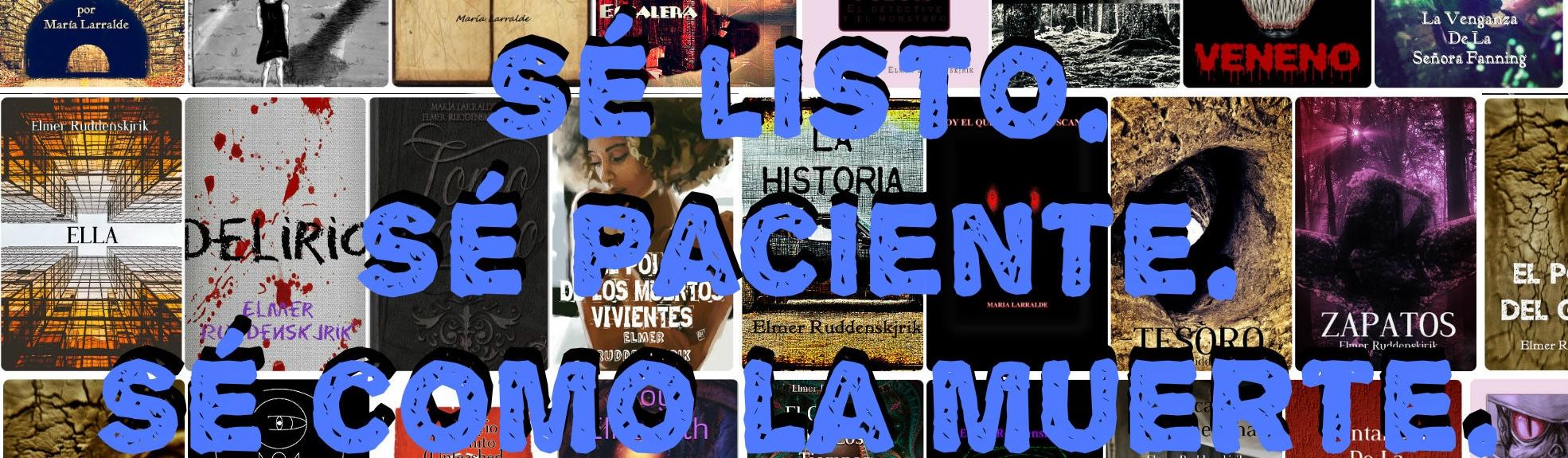collage historias pulp con frase